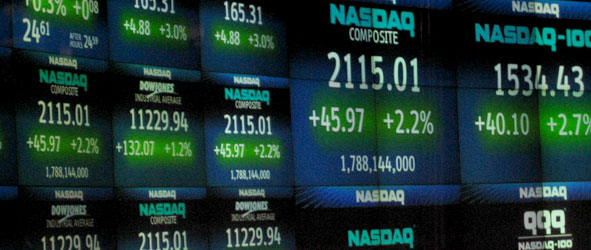 Nasdaq index numbers