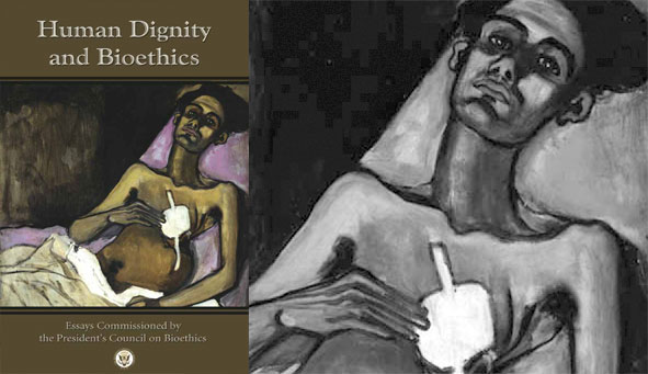 Cover of Report on Human Diginity and Bioethics