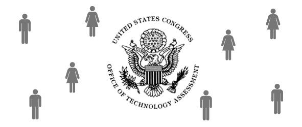 OTA logo with men and women around it