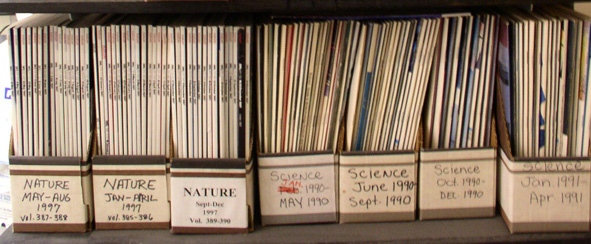 Journals Nature and Science