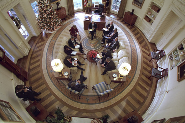 Oval office meeting
