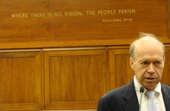 NASA Goddard Institute Director James Hansen addressing Congress June 24, 2008