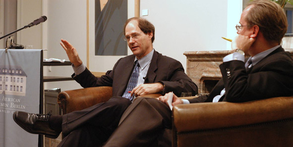 Cass Sunstein with Larry Lessig