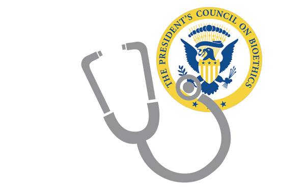 President's Council on Bioethics seal with stethescope