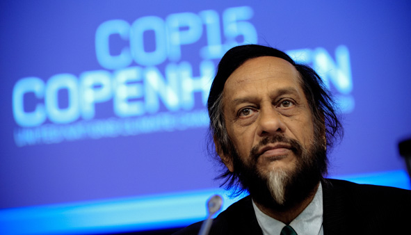 Intergovernmental Panel on Climate Change Chairman Rajendra Pachauri