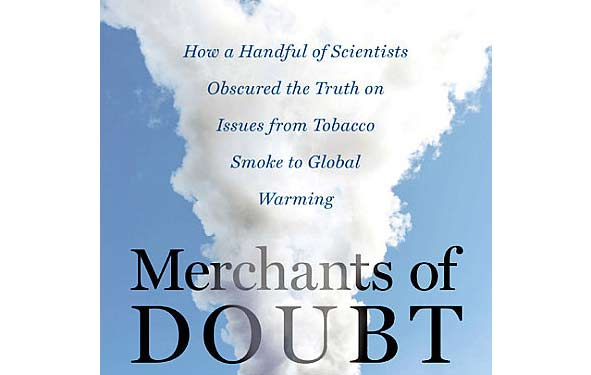 Merchants of Doubt Book Cover